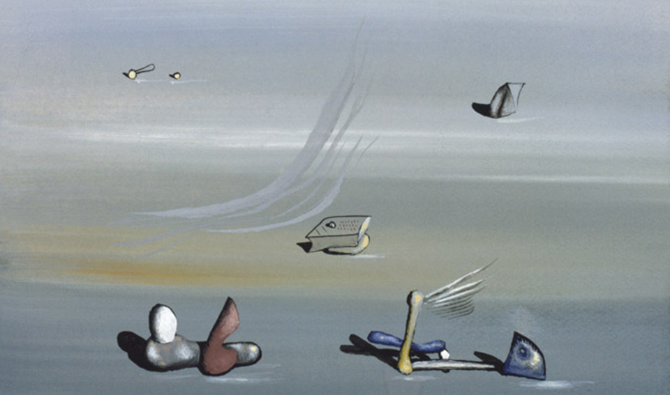 <b>Yves Tanguy Catalogue Raisonné</b><br> The Foundation is sponsoring the publication of the Yves Tanguy Catalogue Raisonné, a comprehensive volume of all paintings and works on paper with color by the artist.<br> © The Museum of Modern Art